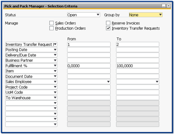 Inventory Management | SAP Business One - Blue Ocean Systems Singapore