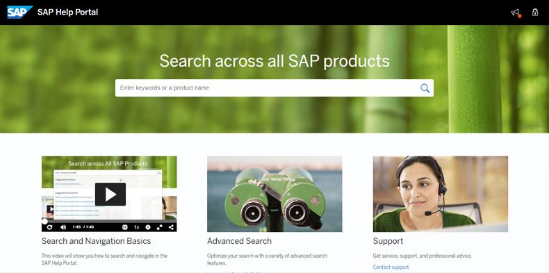 Revamped SAP Help Portal | Blue Ocean Systems Blog